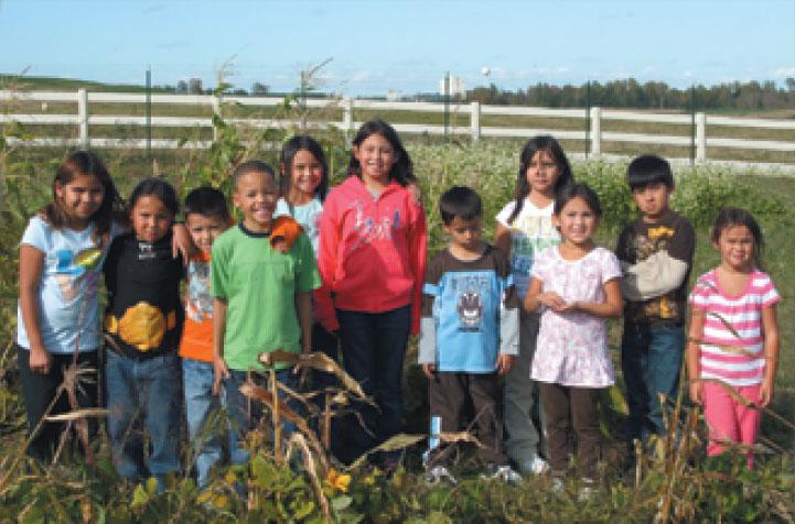 Gathering Grounds Harvest 2010, Hannaville Indian Community