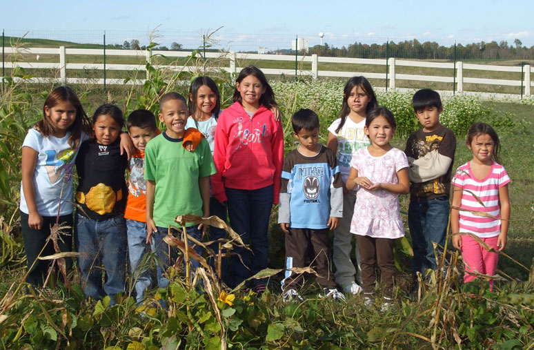 Hannahville Indian Community's next generation of tribal leaders and Native plant protectors