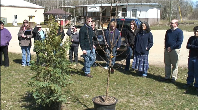 Hannahville Tree Planting