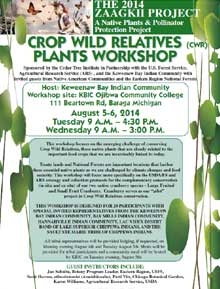 View Crop Wild Relatives Plants Poster at full size
